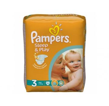 ���������� PAMPERS SLEEP & PLAY, 3, 4-9 ��, 16 ��. � �������� ����